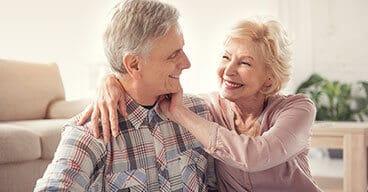 Ehepaar in Rente
